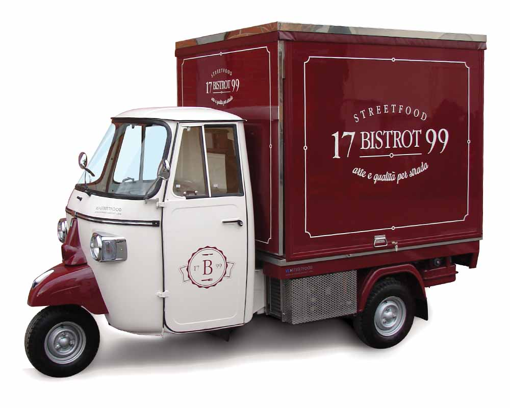 Street Food Ape Car Bistrot 1799