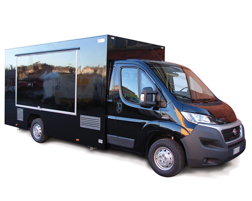 Ducato food truck for catering Star In The Street