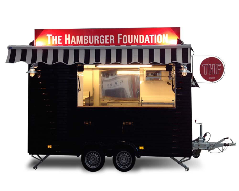 comprare un autonegozio rimorchio per vendita hamburger