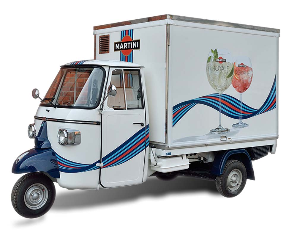 piaggio mobile cocktail bar martini racing. Black Bedroom Furniture Sets. Home Design Ideas