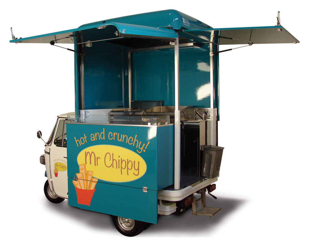 Food van sold to Dubai for vending fried food in the streets