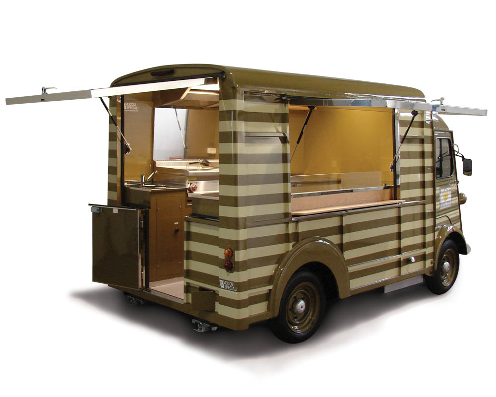 food truck vintage citroen type h outlet di serravalle i ravioli di pia. Black Bedroom Furniture Sets. Home Design Ideas