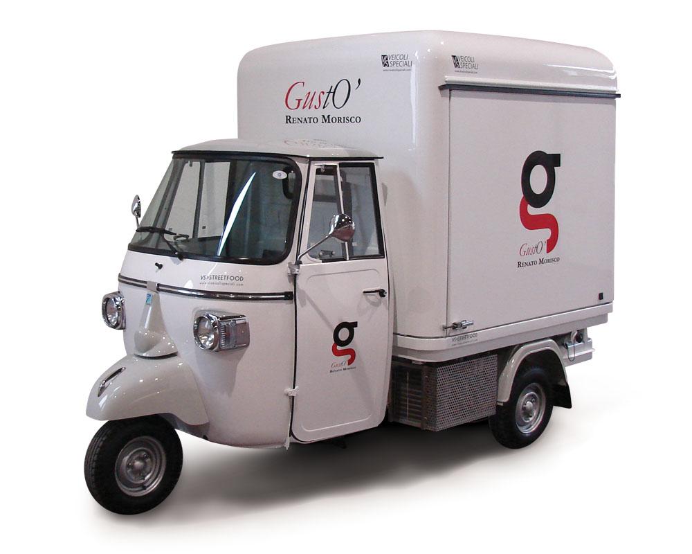 Piaggio mobile kitchen - Morisco
