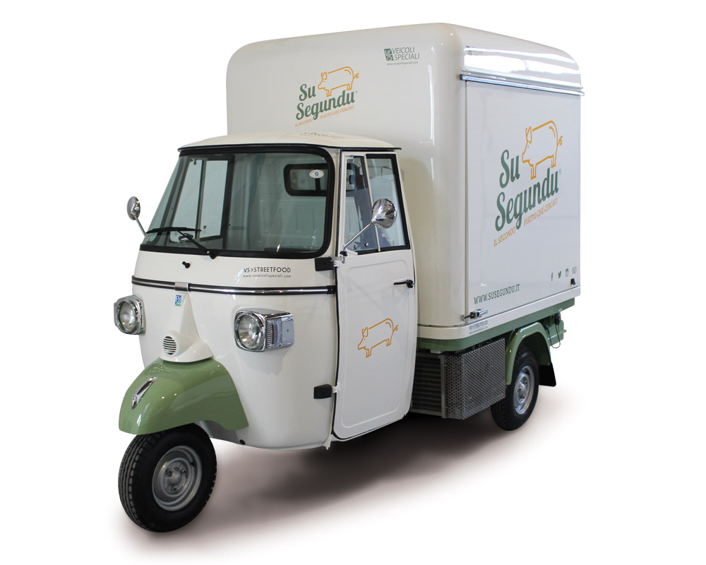 Piaggio van SuSegundu for street food