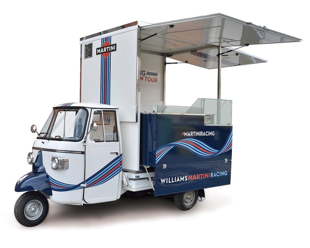 Food truck e autonegozi usati in vendita for Ape bar prezzo