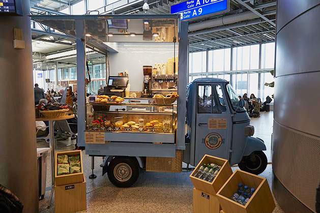 Caviar House Prunier geneva airport