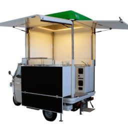 food truck piaggio second hand for street vending