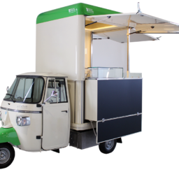 food truck piaggio second hand vehicle for street vending