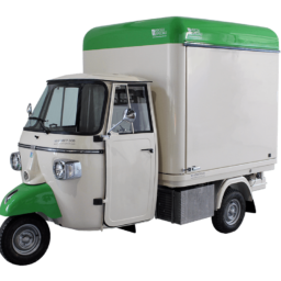 food truck piaggio used for street food