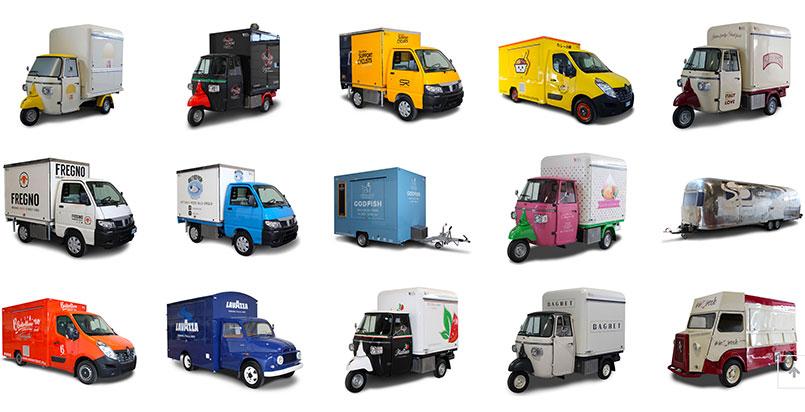tipologie di food truck per marketing, vendita e promozione aziende
