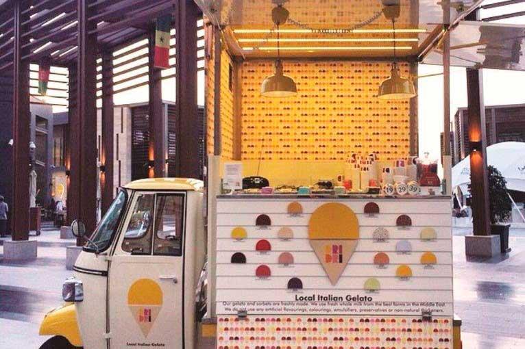 gelateria dri dri a dubai - autonegozio mobile