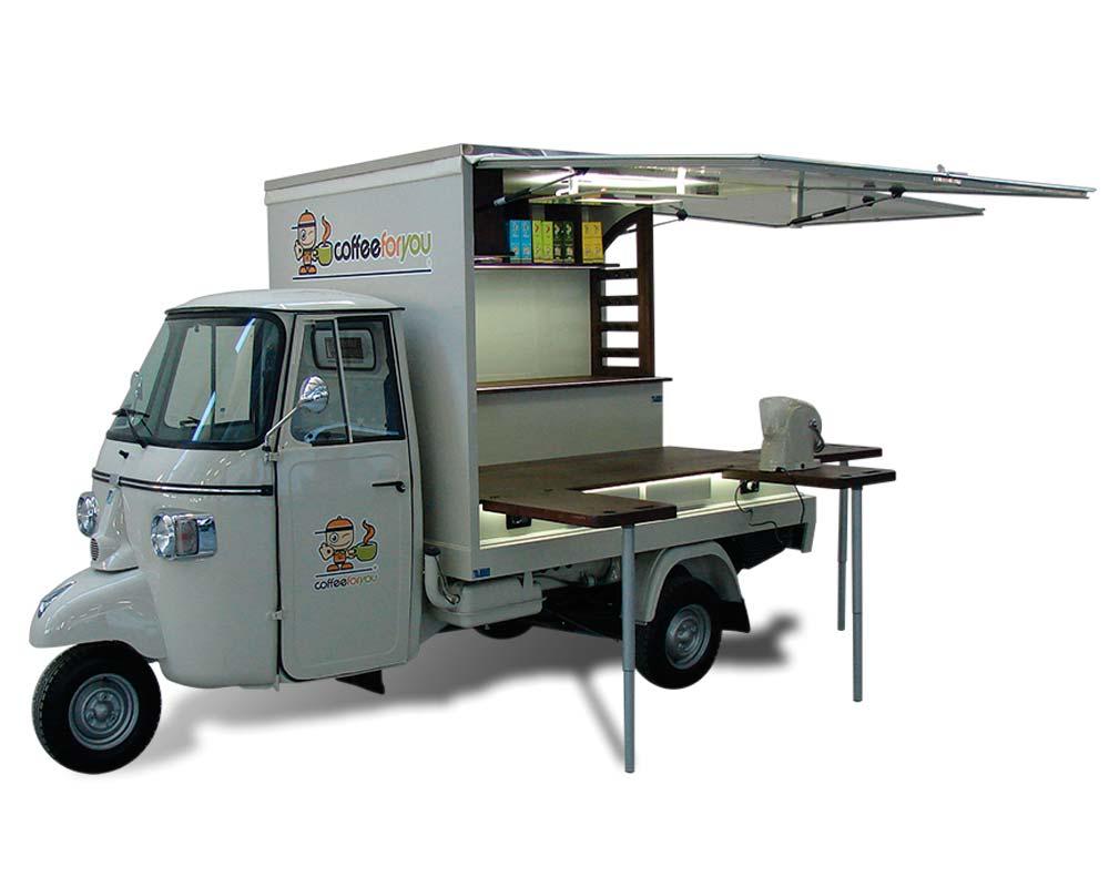 Allestimento veicolo promozionale Ape Car