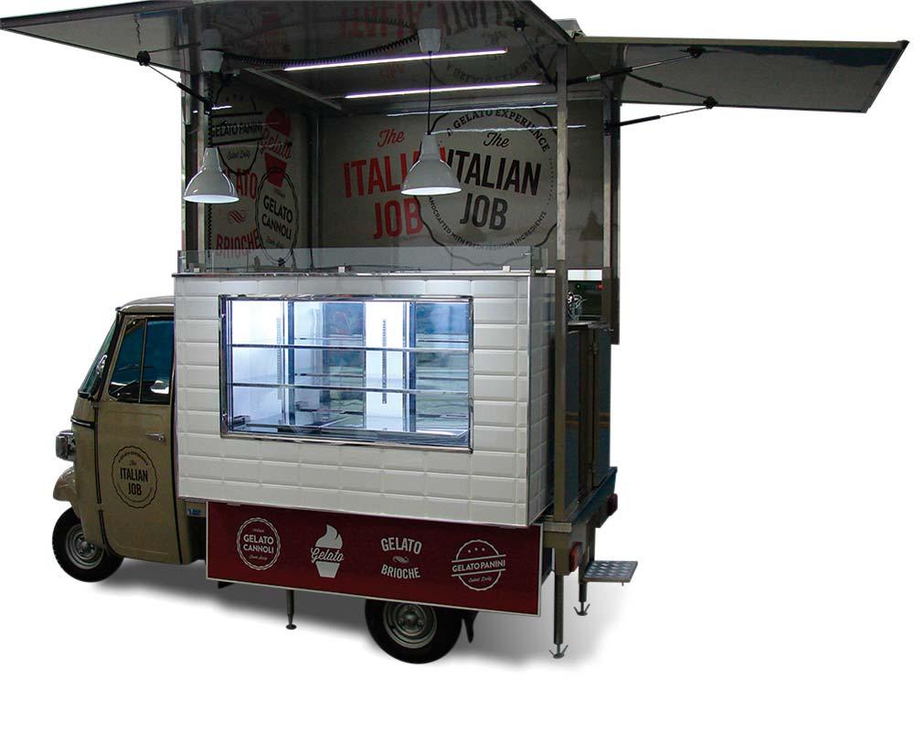 ape food truck gelato italiano in usa
