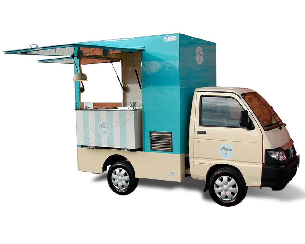 food truck piaggio per commercio ambulante