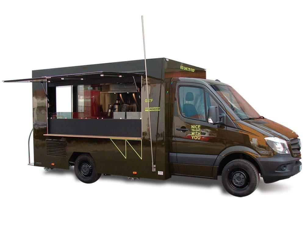Mercedes Sprinter Green >> How To Design A Food Trailer | Joy Studio Design Gallery - Best Design