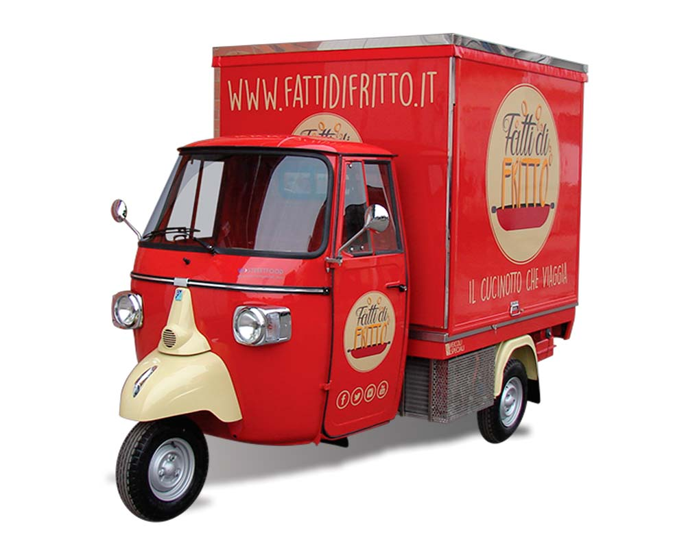 fry truck fitted out to sell high quality fried chicken