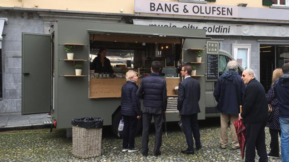 Food Truck tr3vor in Switzerland