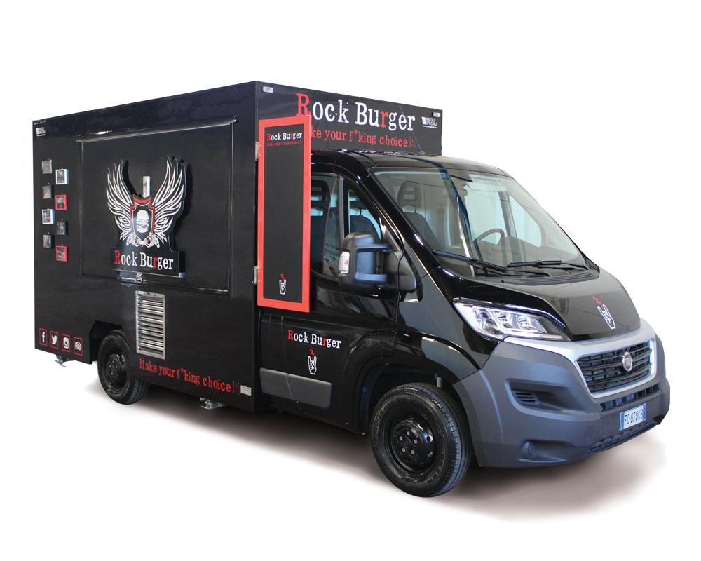 """Ducato Food Truck """"Rockburger Benecosì"""""""