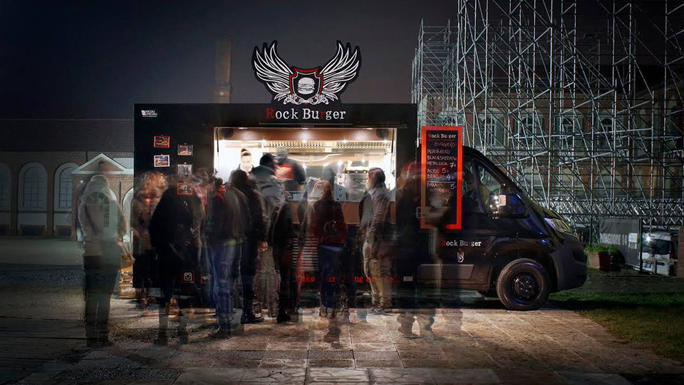 Setting up your food truck business like rock burger