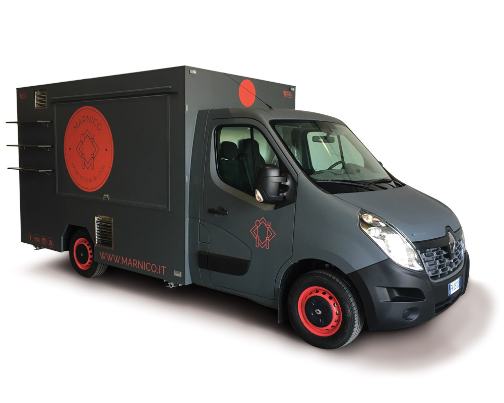 Marnico renault food truck for selling italian pasta