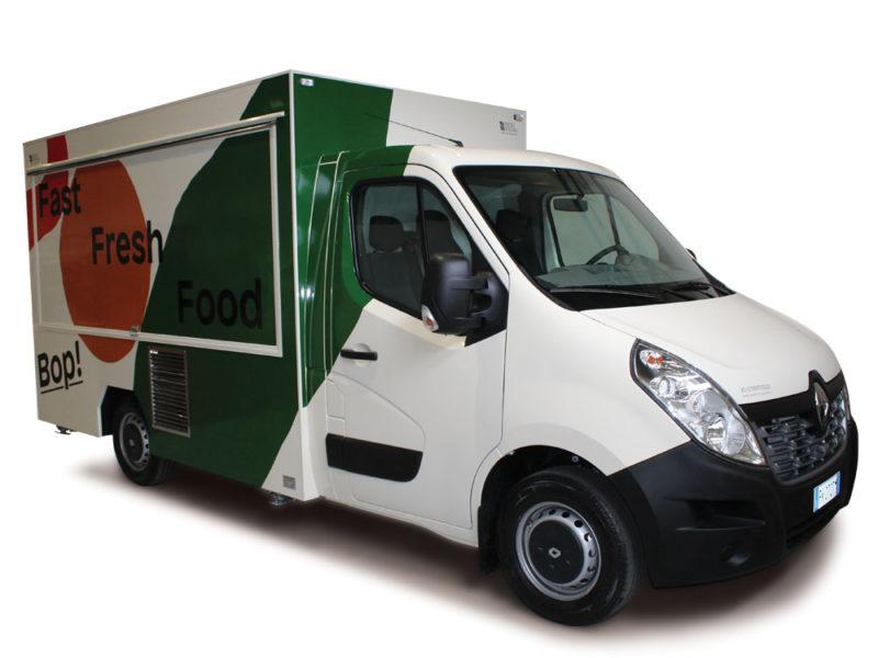 Camion Fast Food Renault Master | Restauracion Rapide | Bop (Milan)
