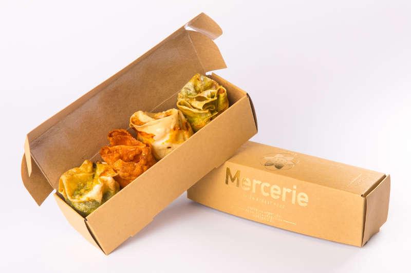 le lasagnette sono un cibo d'asporto venduto da Mercerie