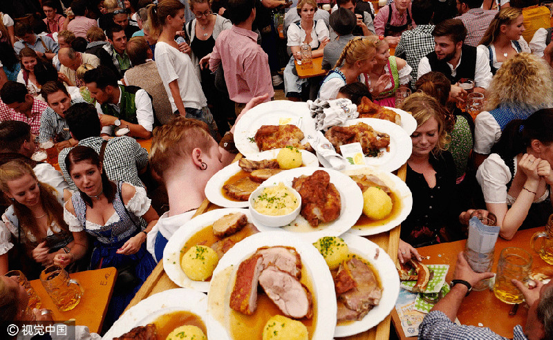Oktoberfest in Bayer München is one of the main street food events in Germany