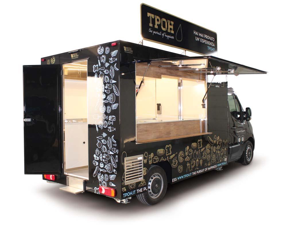 Food Truck Opel Movano TPOH allestito per I Piadinari