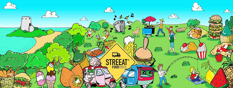 STREEAT Food Truck Festival 2018: Food Truck, Street Food, Musik, Shows