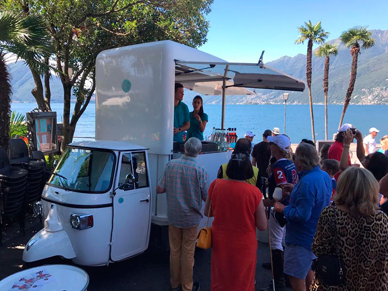 ape food truck per catering in matrimoni ed eventi