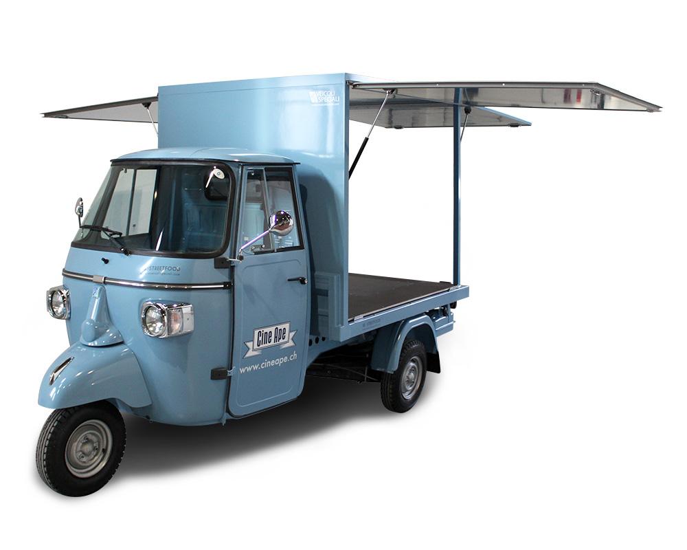 cineape promo truck per proiezione itinerante di film