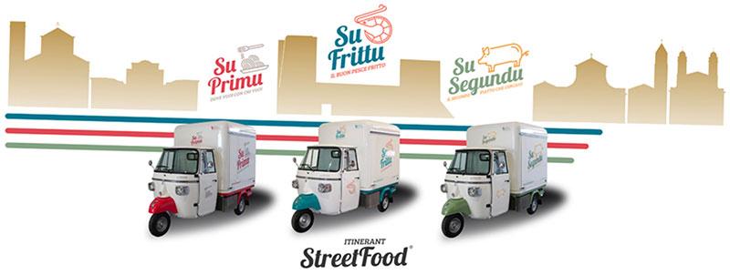 cucina itinerante sardegna 3 ape street food per unico progetto imprenditoriale di Francesco Orrù: Itinerant Street Food