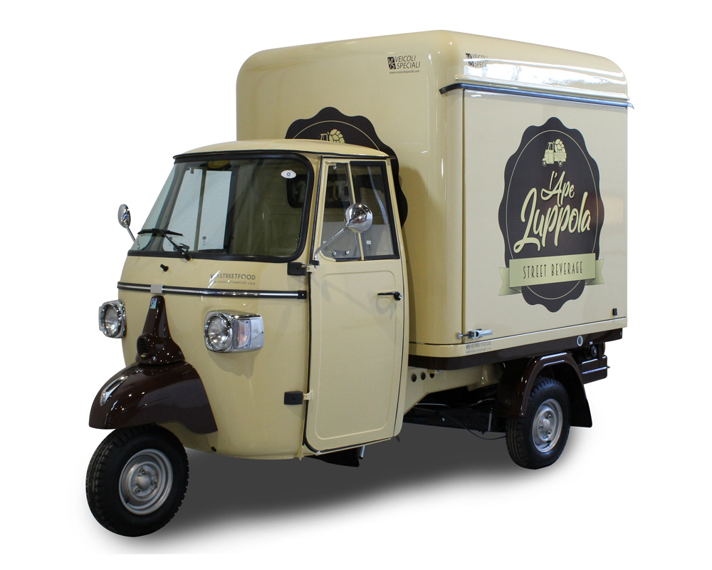 beer truck luppola for mobile trading business