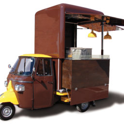 ape food truck usato cucina ambulante