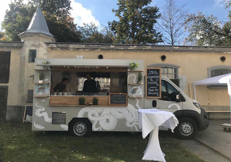 food truck hohe Reichweite sanfish