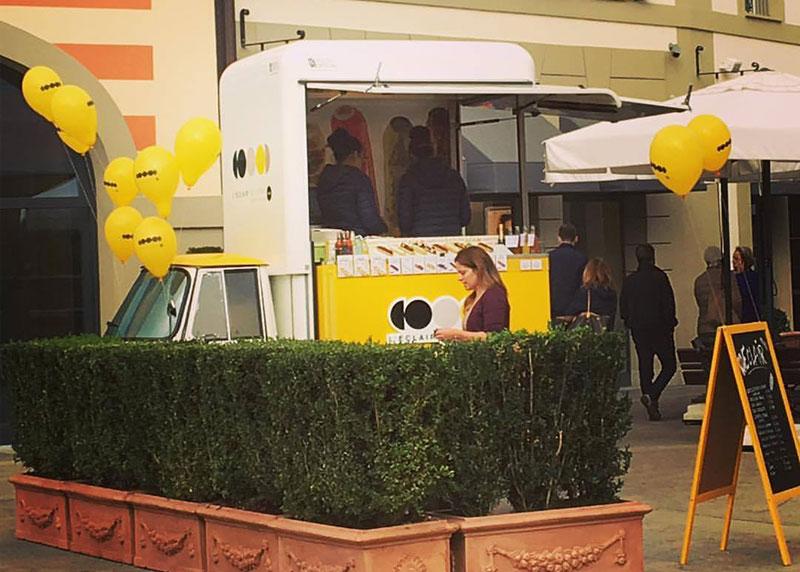 food truck piaggio im outlet l'eclair de genie
