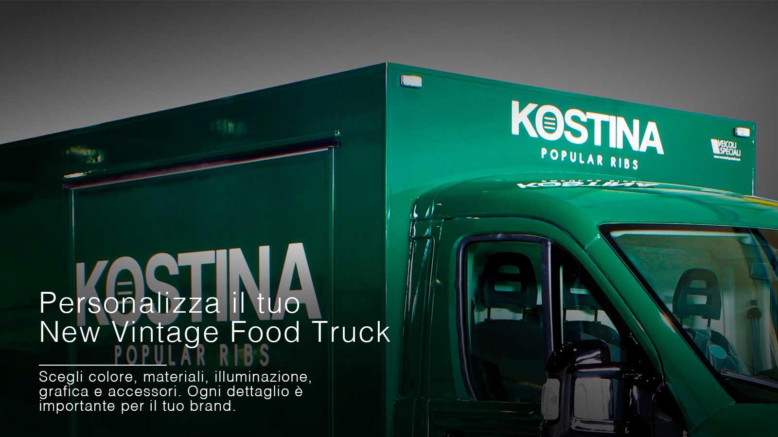 food truck vintage da comprare nuovo