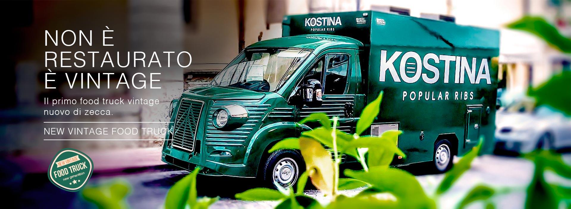 noleggio e vendita new vintage food truck per promozione aziendale