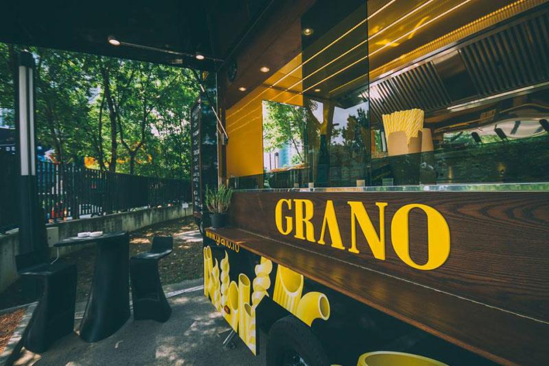 grano food truck bucarest ristorante cucina itinerante piatti di pasta