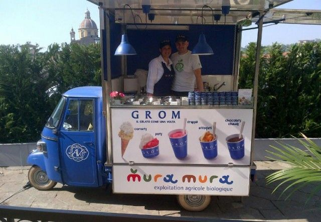 grom ape food truck