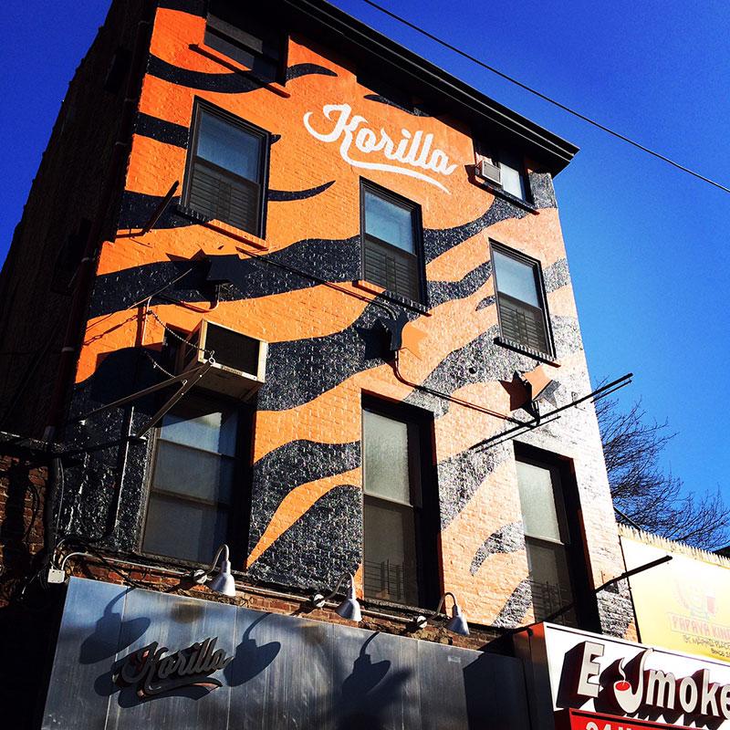 Korilla bbq restaurant in new york