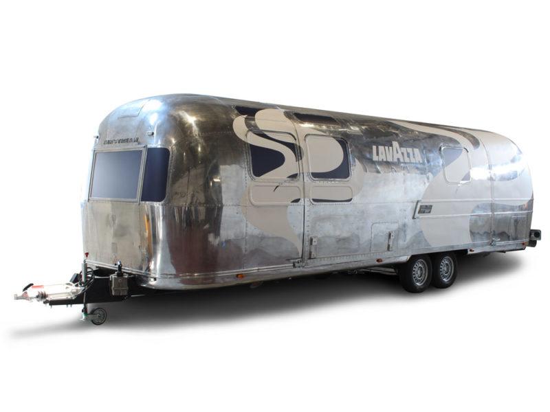 Kaffee Anhänger Umbau - Airstream Lavazza