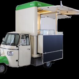 food truck piaggio usato in vendita