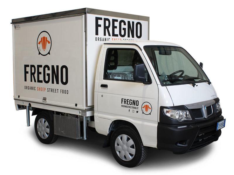 Sandwich Truck mobile Küche für den Verkauf von abruzzesischen Gerichten