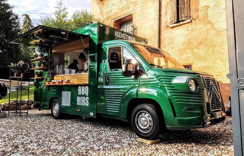 vintage food truck nuovo citroen jumper 2018