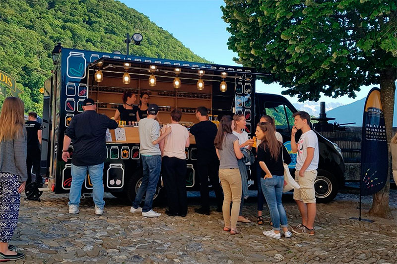 hugo reitzel promo truck promozionale