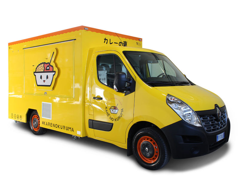 foodtruck cucina mobile karenokuruma
