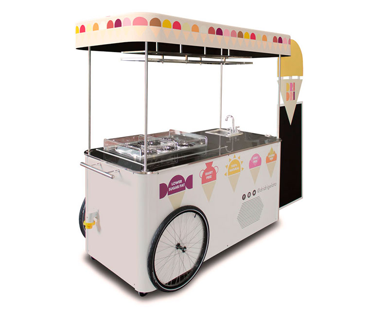 icecream cart vkart