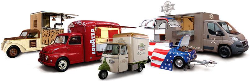 food truck et promo truck pour la promotion de l'entreprise