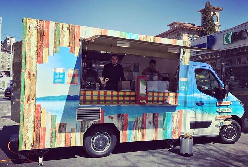 food truck renault master Guadeloupe-Küche